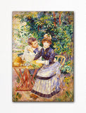 In the Garden Renoir Painting Fridge Magnet