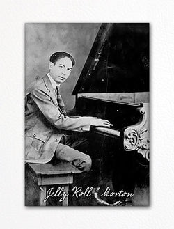 Jelly Roll Morton Photo Fridge Magnet