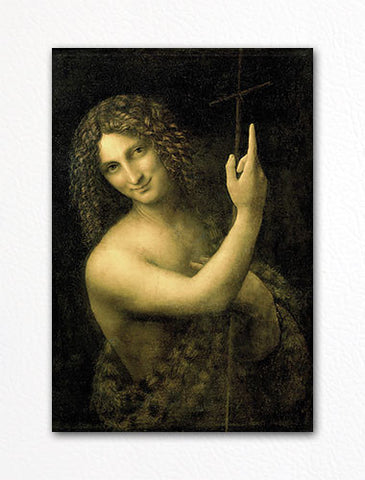 Saint John the Baptist Fridge Magnet