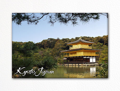 Kyoto Japan Kinkaku-ji Souvenir Photo Fridge Magnet