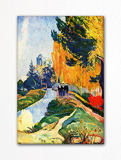 Les Alyscamps Paul Gauguin Fridge Magnet