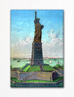 Liberty Enlightening the World Fridge Magnet