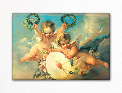Love Target Francois Boucher Fridge Magnet