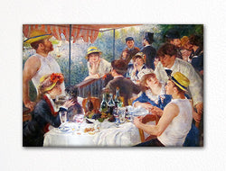 Luncheon of the Boating Party Renoir Fridge Magnet