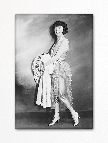 Mabel Normand Photograph Fridge Magnet
