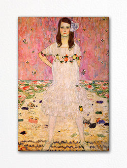 Klimt Portrait of Mada Primavesi Fridge Magnet