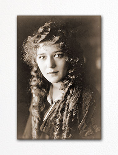 Mary Pickford Portrait Fridge Magnet