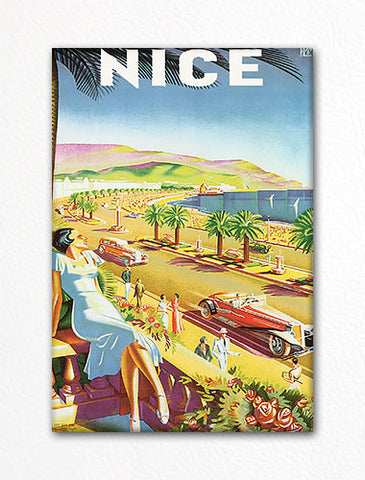 Nice France Advertising Poster Artwork Fridge Magnet