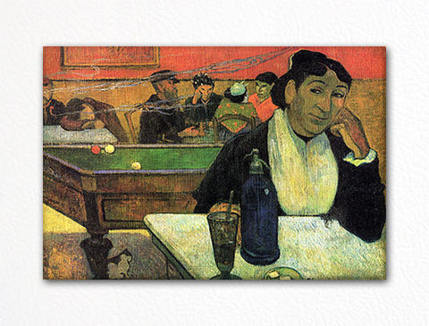 Night Cafe at Arles Paul Gauguin Fridge Magnet