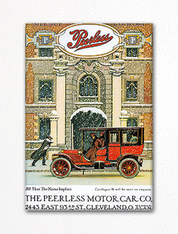 Peerless Motor Car Company Advertisement Fridge Magnet