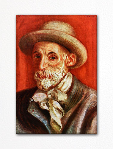 Renoir Self Portrait Painting Fridge Magnet