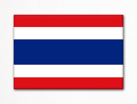 Flag of Thailand Thai Flag Fridge Magnet