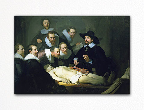 The Anatomy Lesson Rembrandt van Rijn Fridge Magnet