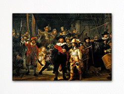 The Night Watch Rembrandt van Rijn Fridge Magnet