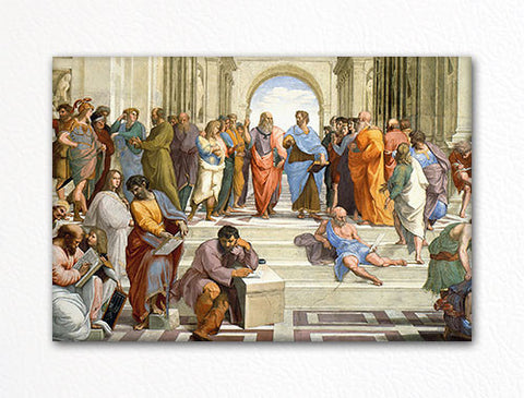 Raphael's The School of Athens Fridge Magnet