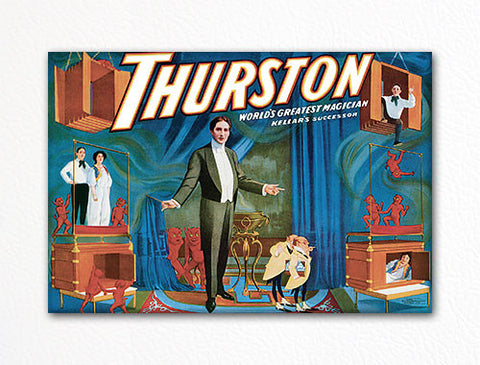 Thurston World's Greatest Magician Poster Artwork Fridge Magnet