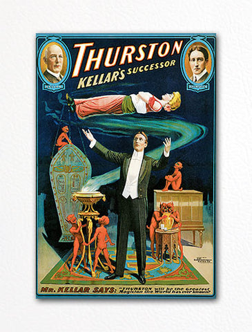 Thurston Kellar's Successor Advertising Poster Artwork Fridge Magnet