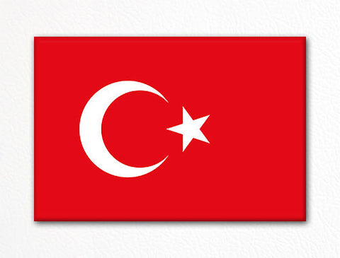Flag of Turkey Turkish Flag Fridge Magnet