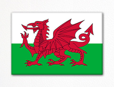 Flag of Wales Welsh Flag Fridge Magnet