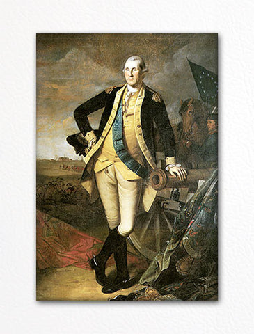 George Washington at Princeton Fridge Magnet