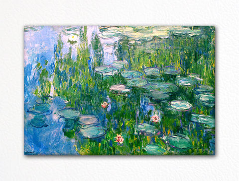 Water Lilies 1915 Claude Monet Painting Fridge Magnet