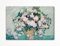 White Roses Vincent van Gogh Fridge Magnet