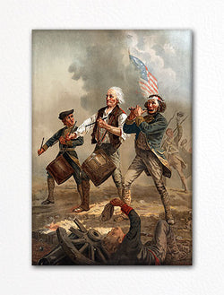 Yankee Doodle Spirit of '76 Fridge Magnet