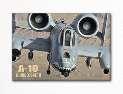 "A-10 Thunderbolt II ""Head On"" Fridge Magnet"