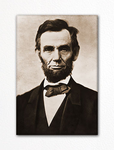 Abraham Lincoln Portrait Fridge Magnet