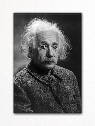 Albert Einstein Fridge Magnet