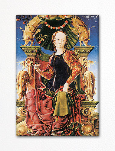 Allegorical Figure by Cosimo Tura Fridge Magnet