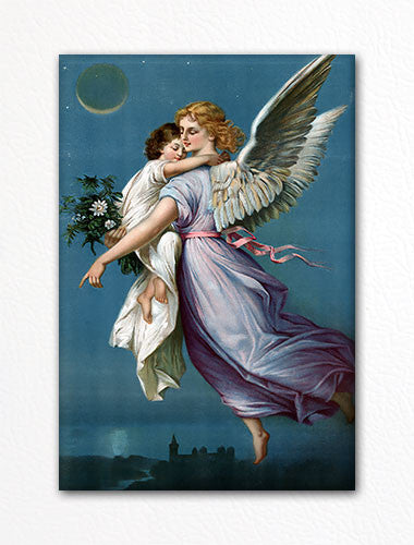 Angel of Peace Fridge Magnet