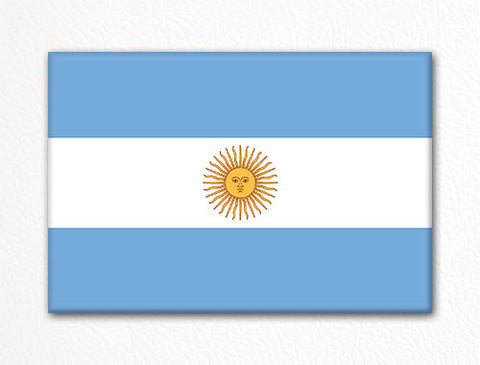 Flag of Argentina Argentinian Flag Fridge Magnet
