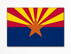 Arizona State Flag Fridge Magnet