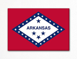 Arkansas State Flag Fridge Magnet