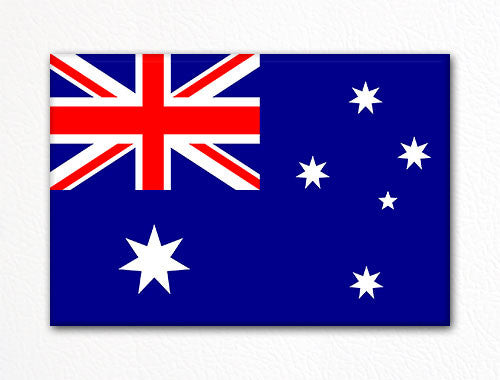 Flag of Australia Australian Flag Fridge Magnet