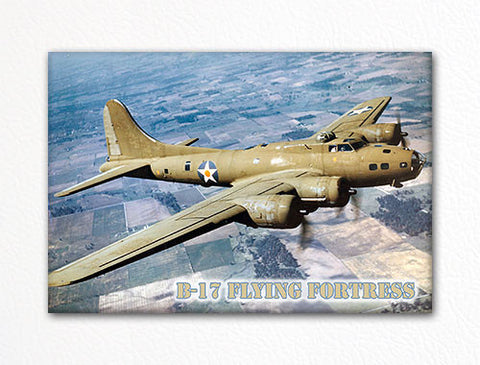 B-17 Flying Fortress Photo Fridge Magnet