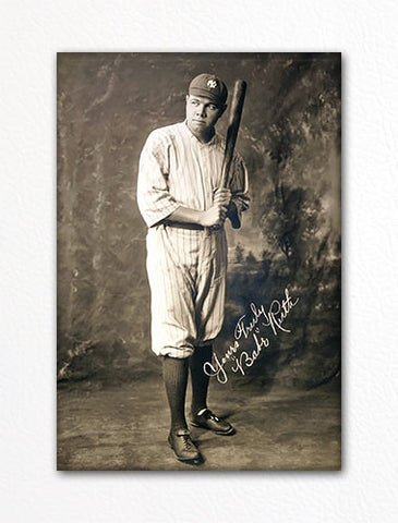 Babe Ruth Full-Length Portrait Fridge Magnet