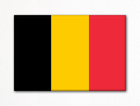 Flag of Belgium Belgian Flag Fridge Magnet