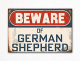 Beware of German Shepherd Dog Breed Cute Fridge Magnet