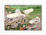 Beaumont's Bleroit Monoplane Fridge Magnet
