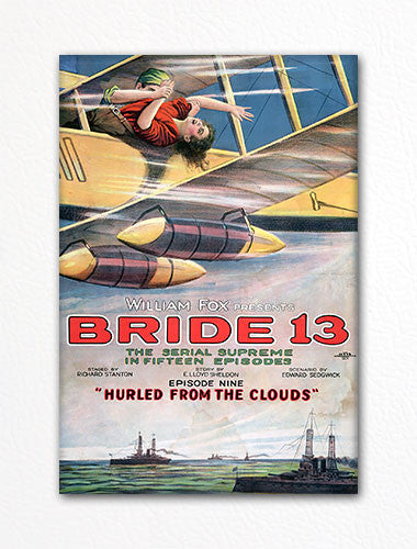 Bride 13 Vintage Movie Poster Fridge Magnet