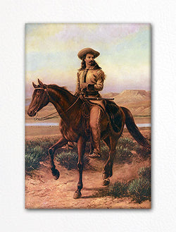Buffalo Bill Cody Portrait Fridge Magnet
