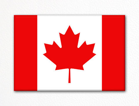 Flag of Canada Canadian Flag Fridge Magnet