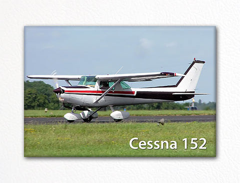Cessna 152 Fridge Magnet