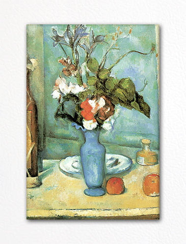 Blue Vase Paul Cezanne Fridge Magnet Classical Creations
