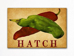 Hatch Chili Peppers Decorative Kitchen Fridge Magnet