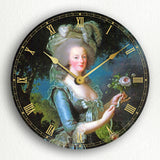 Marie Antoinette Classic Artwork Silent Wall Clock