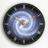 Milky Way Galaxy Silent Wall Clock