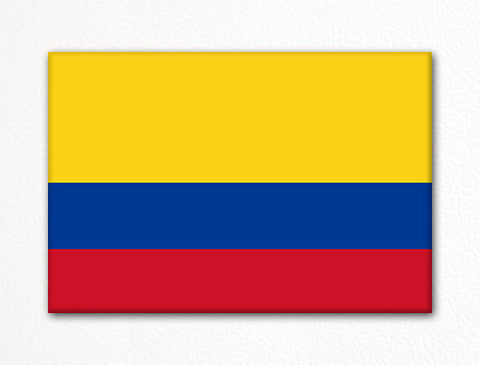 Flag of Colombia Colombian Flag Fridge Magnet